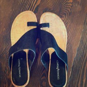 Donald Pliner wedge sandal